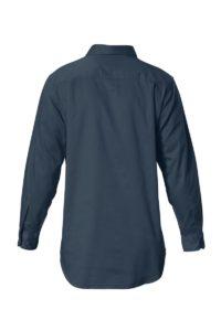 Hard Yakka Cotton Drill Closed Front Work Shirt Long Sleeve - Bottle Green