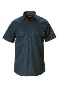 Hard Yakka Cotton Drill Shirt Short Sleeve - Green