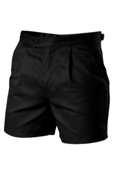 Hard Yakka Cotton Drill Utility Shorts - Black