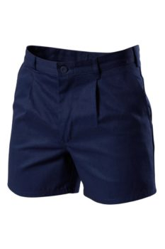 Hard Yakka Cotton Drill Utility Shorts with Belt Loops - Navy