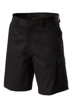 Hard Yakka Generation Y Cotton Drill Short - Black