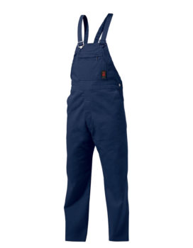 King Gee Bib and Brace Overalls - Navy
