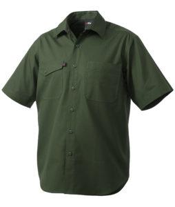 King Gee Workcool2 SS Shirt - Green