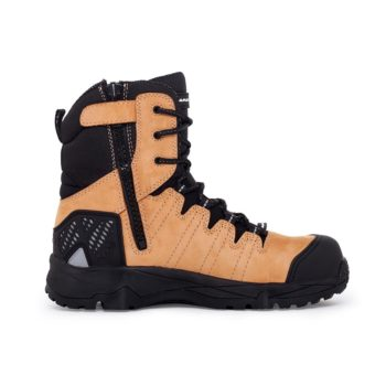 Mack Terrapro Zip Safety Boots Honey