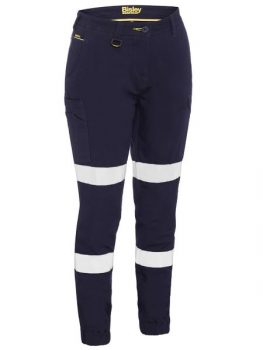 Bisley Women's Taped Cotton Cargo Cuffed Pants Product Code: BPL6028T