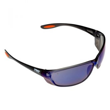 Pro Choice Switch Blue Mirror Safety Glasses