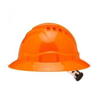 Pro Choice V6 Hard Hat Vented Full Brim Ratchet Harness